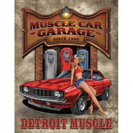 Muscle Car Signs - Legends Detroit Muscle Car