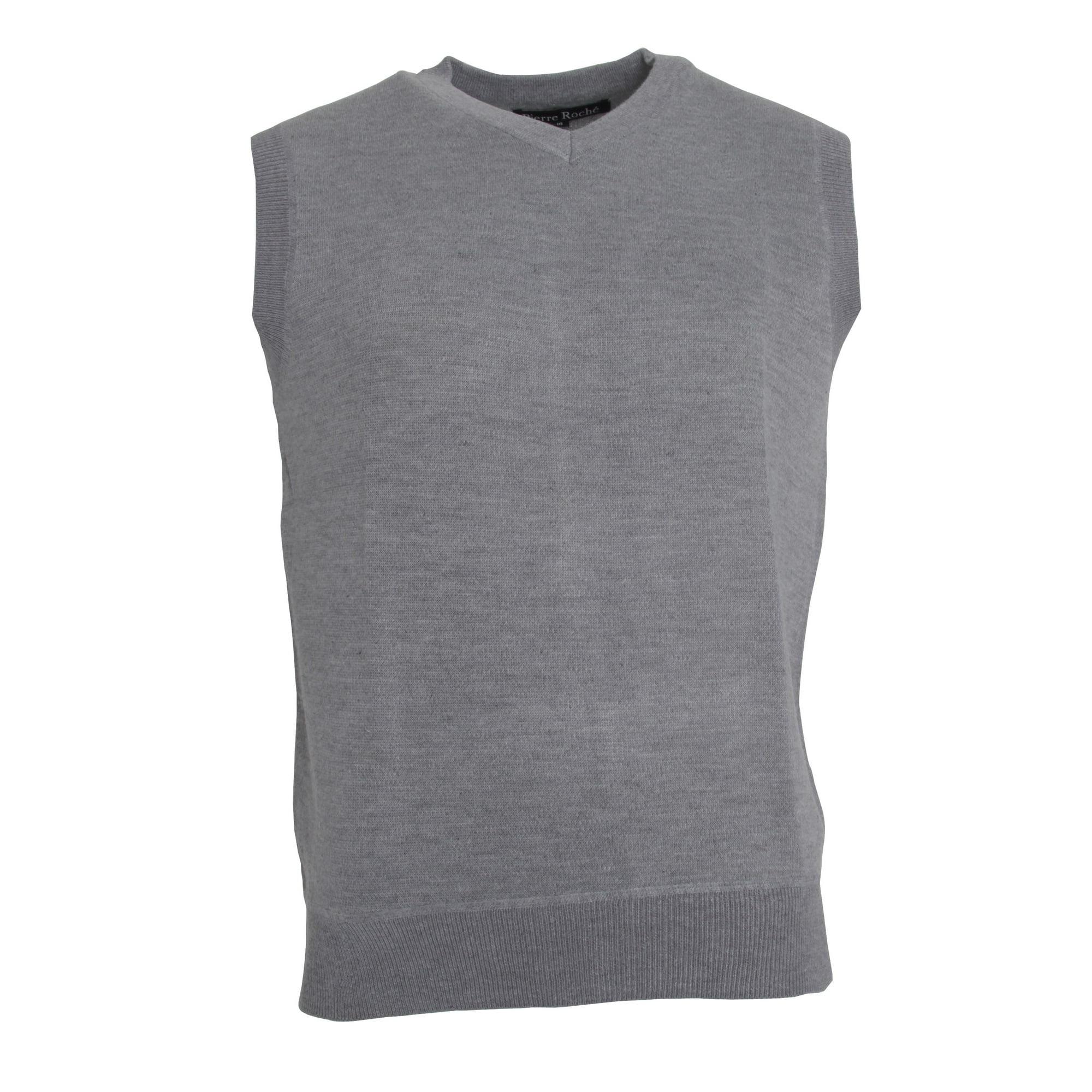 Perry Ellis Mens Textured Sweater Vest 4BHK7101PS
