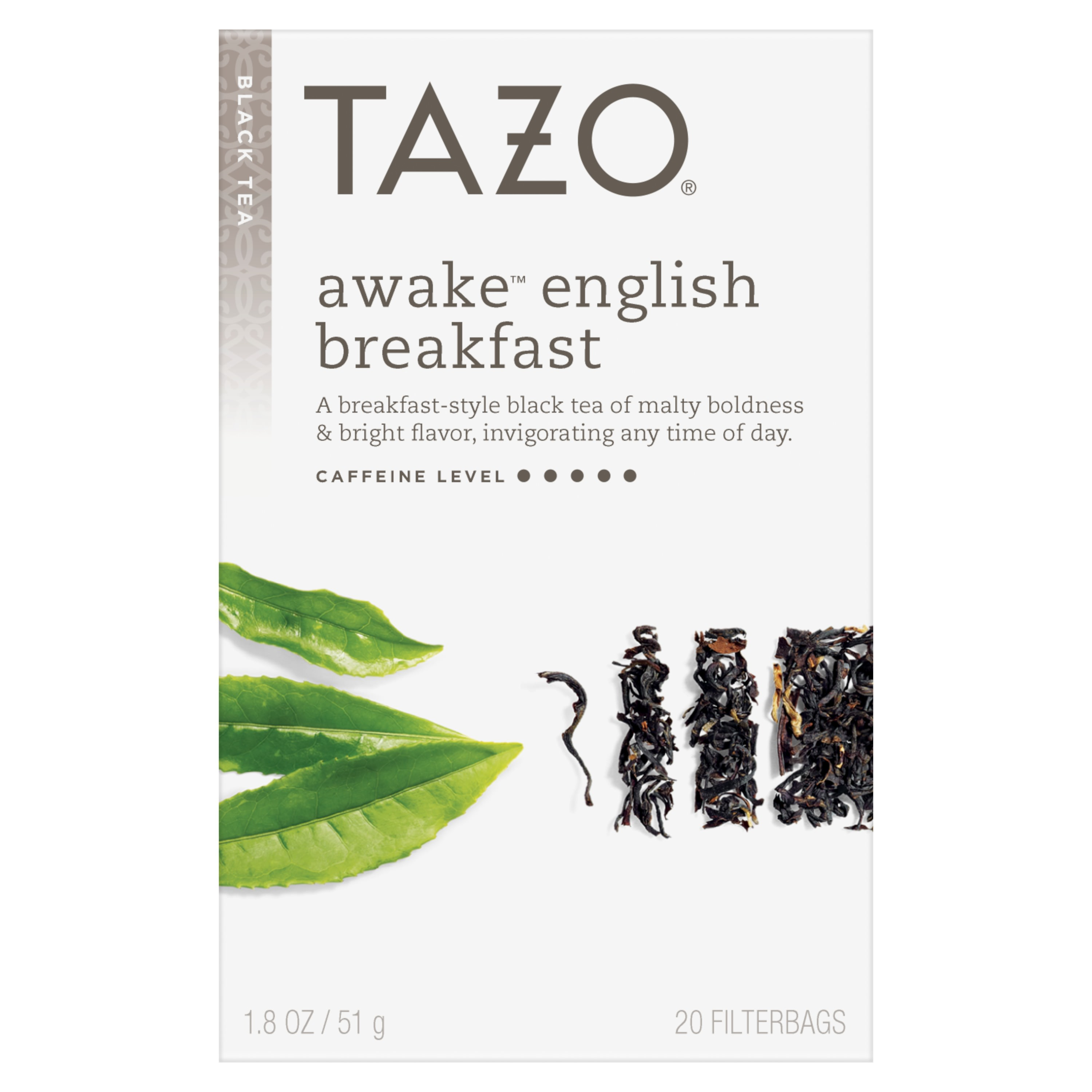 Tazo Awake English Breakfast Tea Bags Black tea 20ct