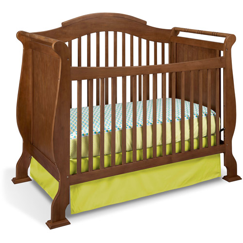 Storkcraft Valentia Fixed-Side Convertible Crib, Dove Brown