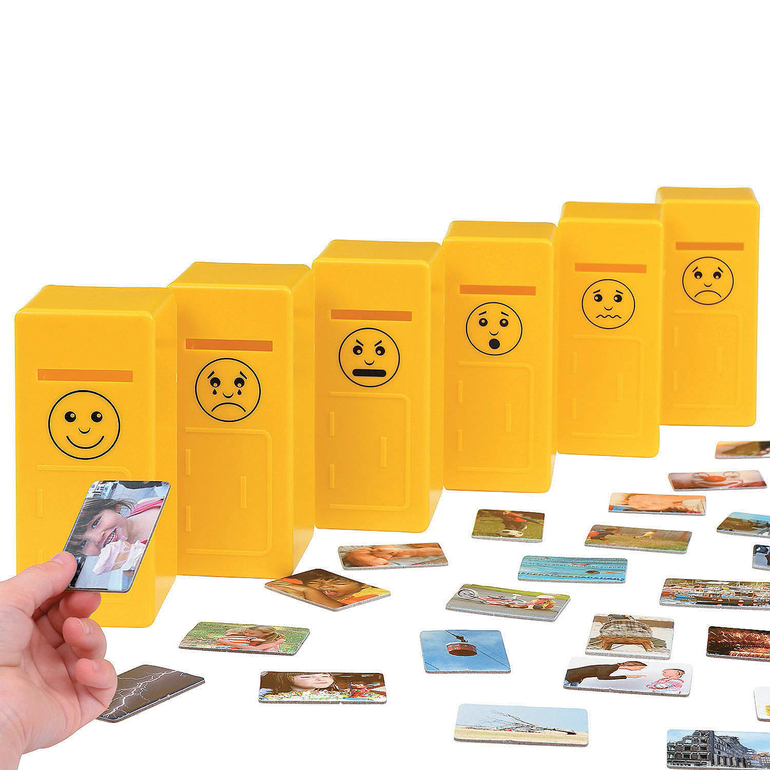 IN-13862108 Emotions Post Sorting Game By Fun Express