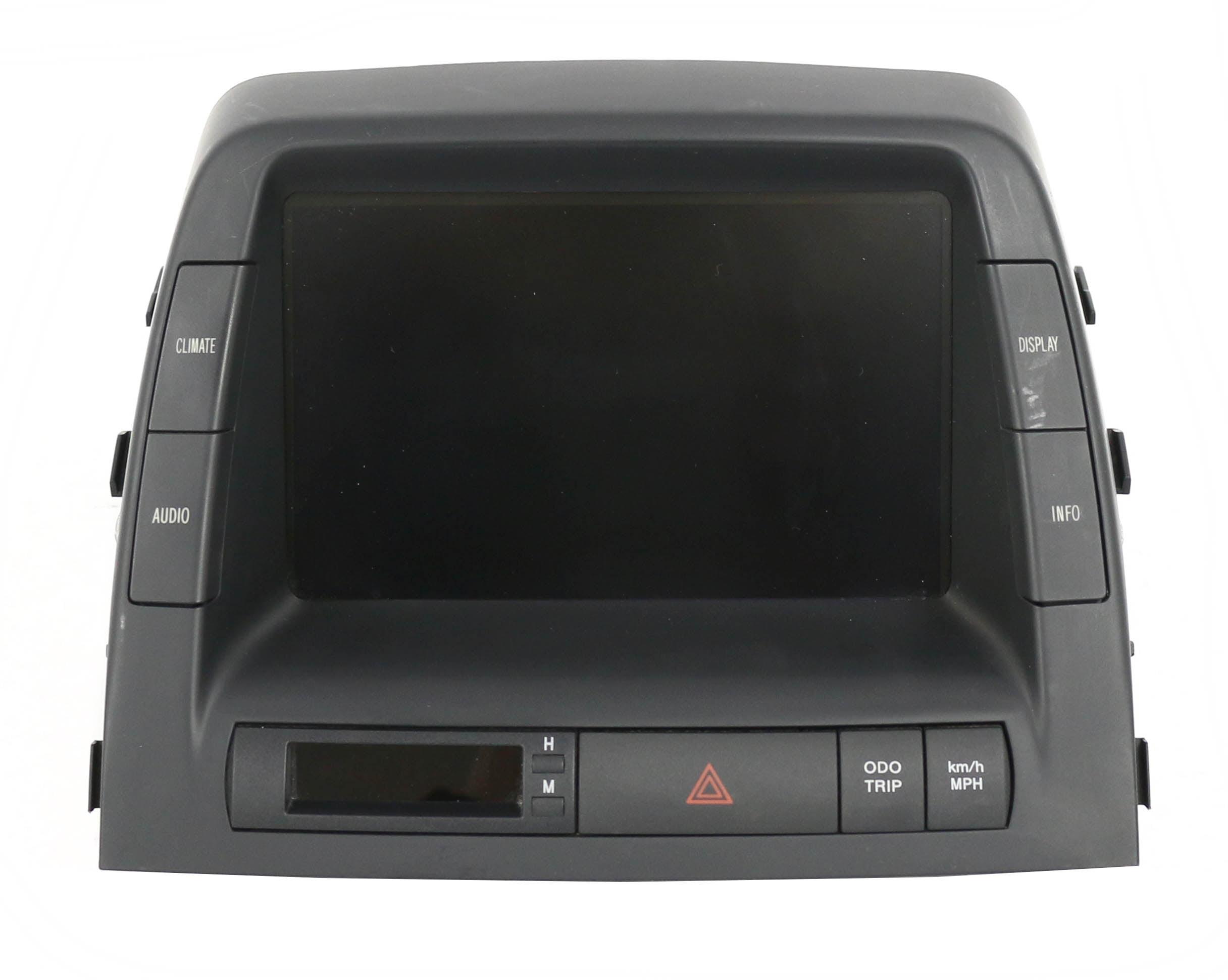 04-09 Toyota Prius Radio Information Display Screen Monitor