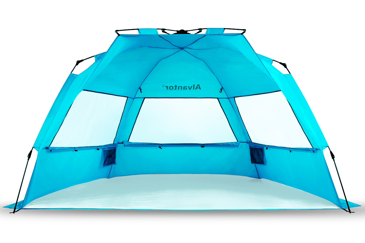 Super BlueCoast Beach Tents Beach Umbrella Automatic Quick Instant Pop-Up PATENT PENDING Hub Anti  sc 1 st  Walmart & Super BlueCoast Beach Tents Beach Umbrella Automatic Quick Instant ...