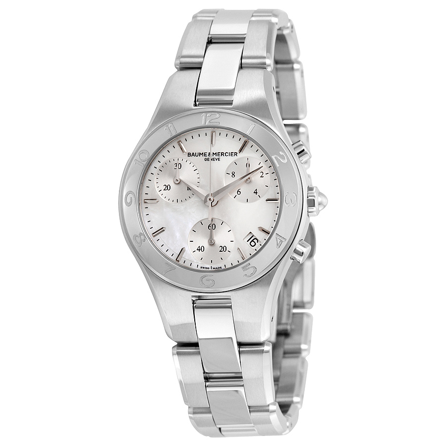 BAUME & MERCIER Linea Chronograph Mother of Pearl Dial La...