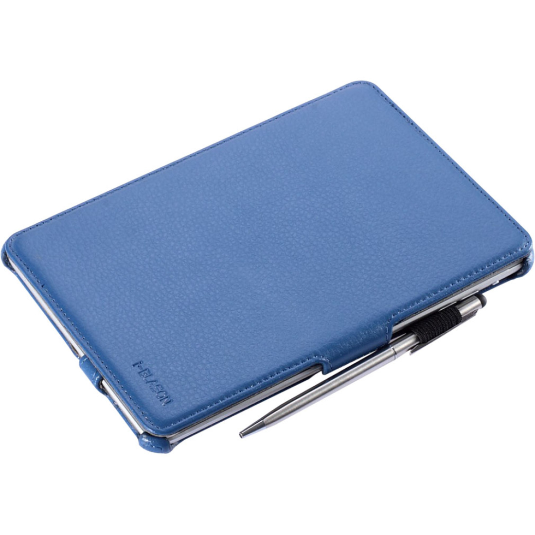I-Blason Book Shell Stand Case - Flip cover for tablet - faux leather - black - for Apple iPad mini 2