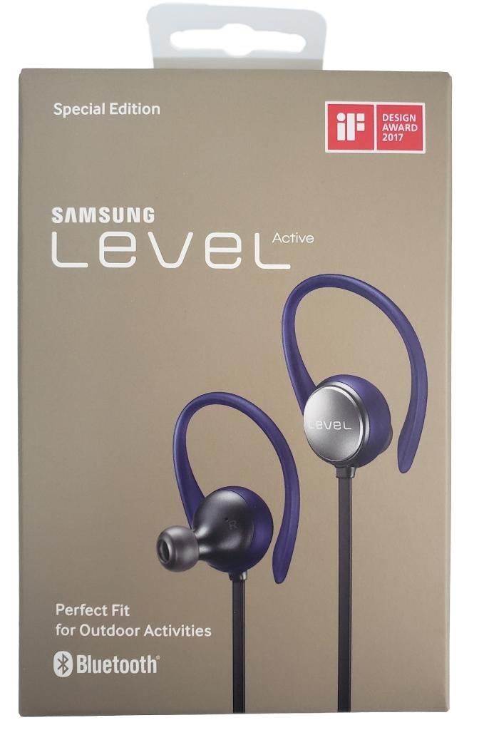 Samsung Level Active Wireless Bluetooth Fitness Earbuds Blue Black Eo Bg930 New Walmart Com Walmart Com