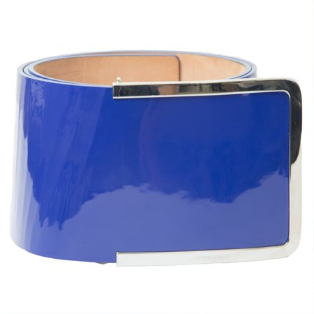 "Giorgio Armani Women's 4"" Wide Patent Leather Belt"