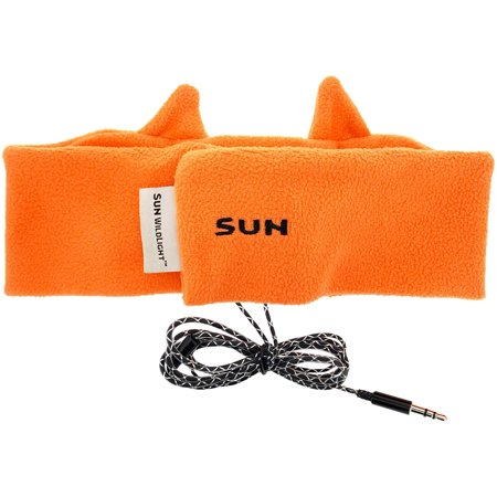 Sun Company WildLight Headband Headlamp/Headphones - Fleece Headband with Bright LED Head Lamp and Headphones for Kids - image 3 of 4