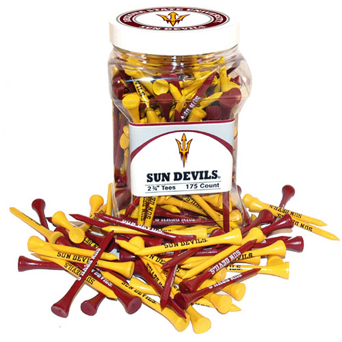 Team Golf NCAA Arizona State  Jar Of 175 Golf Tees