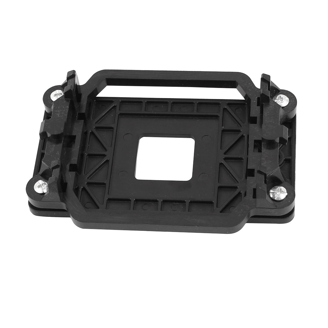 Unique Bargains AMD CPU Cooling Fan Mounting Bracket Base Black for K8 FM1 AM2 940 Socket Plate