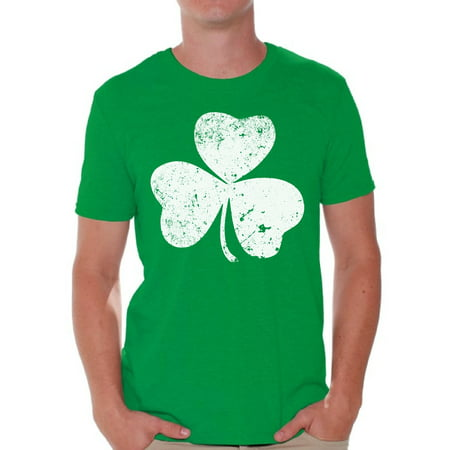 Awkward Styles St Patrick's Day Shirt Mens St Patrick's Day Shirts Irish Shirts for Men Luck Green Irish Shamrock Shirt St Patricks Day Tee For Guys St Patrick Day Party Outift Irish T-shirt for Men - Shamrock Skirt