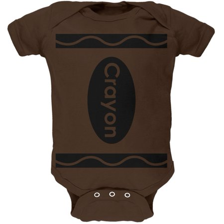 Brown Crayon Costume (Crayon Costume Brown Soft Baby One)