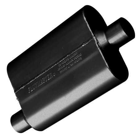Flowmaster 42441 40 Series Muffler - 2.25 Offset In / 2.25 Center Out - Aggressive -