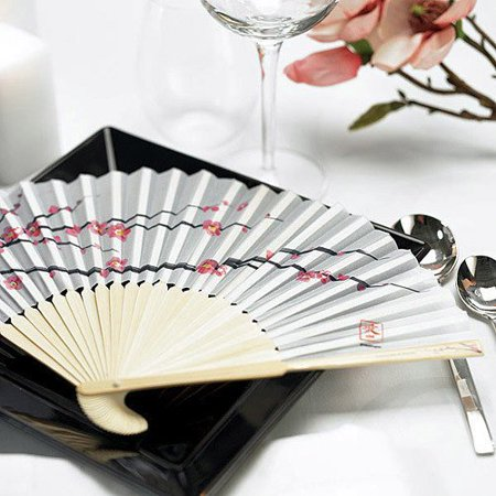 Cherry Blossom Silk Fans, In Japan, the cherry blossom is seen as a symbol of prosperity and good luck. It's also a way to sy By Eventblossom