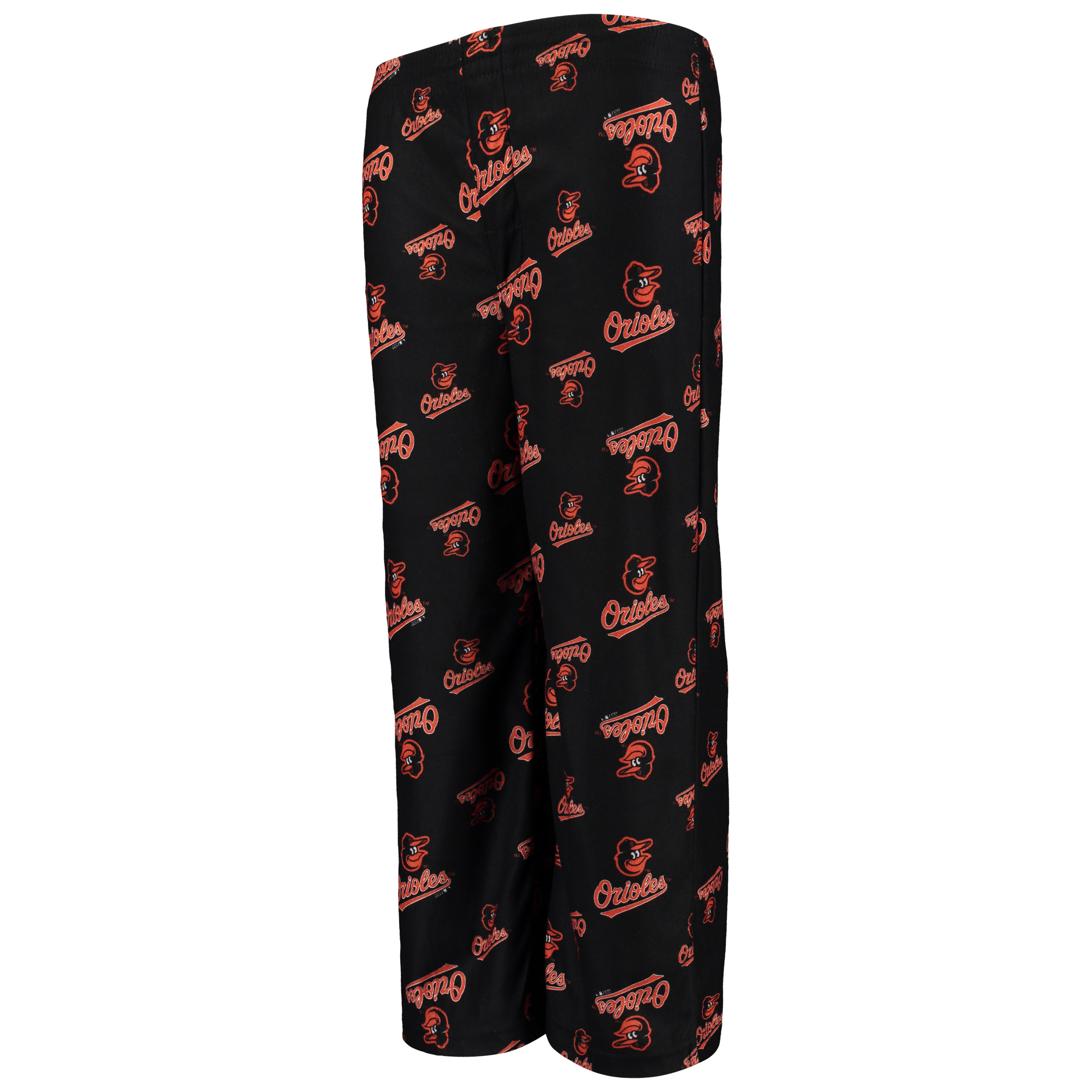 Baltimore Orioles Youth Allover Pants - Black