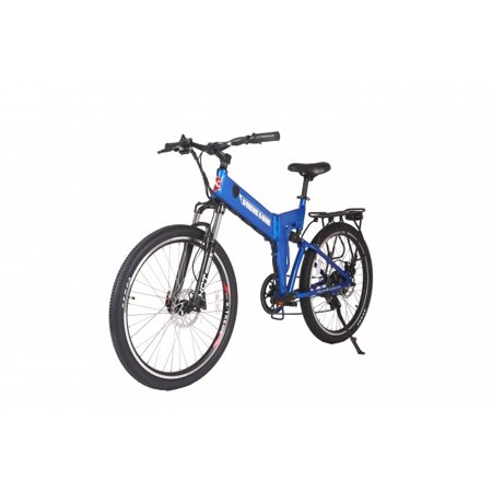 X-Treme Scooter ELITE  X-Cursion 24 Volt - Electric FOLDING Mountain Bike,