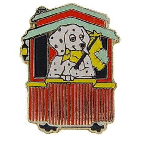 "Dog Caboose Railroad Pin 1"""