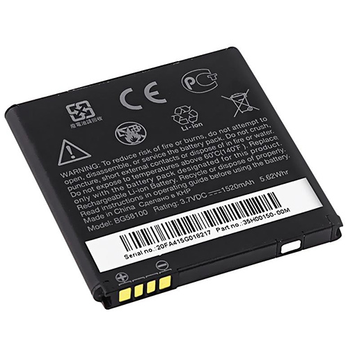 1 Pack Replacement Battery ForHTC BG58100