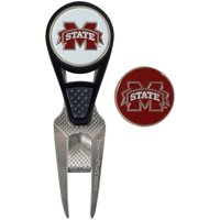 Mississippi State Bulldogs CVX Repair Tool & Ball Markers Set - No Size