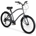 "Hyper 26"" Commute Men's Comfort Bike (Gray)"