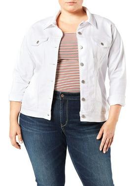 Signature by Levi Strauss & Co. Women's Plus Size Denim Trucker Jacket