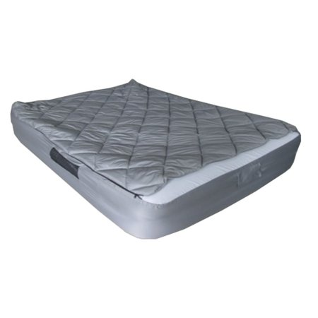 Tahoe Gear Queen Size Mattress Bed Kit with Quilted Fitted Sheet Cover & Blanket