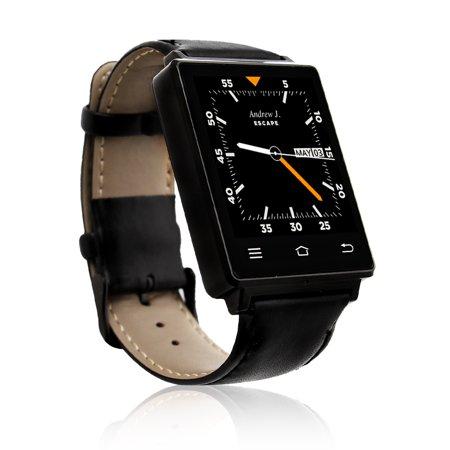 Indigi® Trendy 3G Unlocked Android 5.1 SmartWatch+Phone + WiFi + GPS + Google Play + Heart