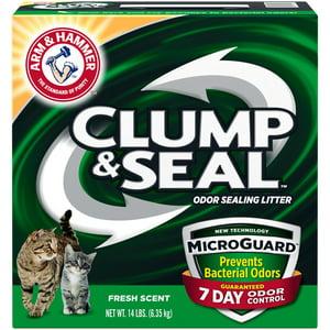 Arm & Hammer Clump & Seal Microguard Cat Litter, 14 Lb