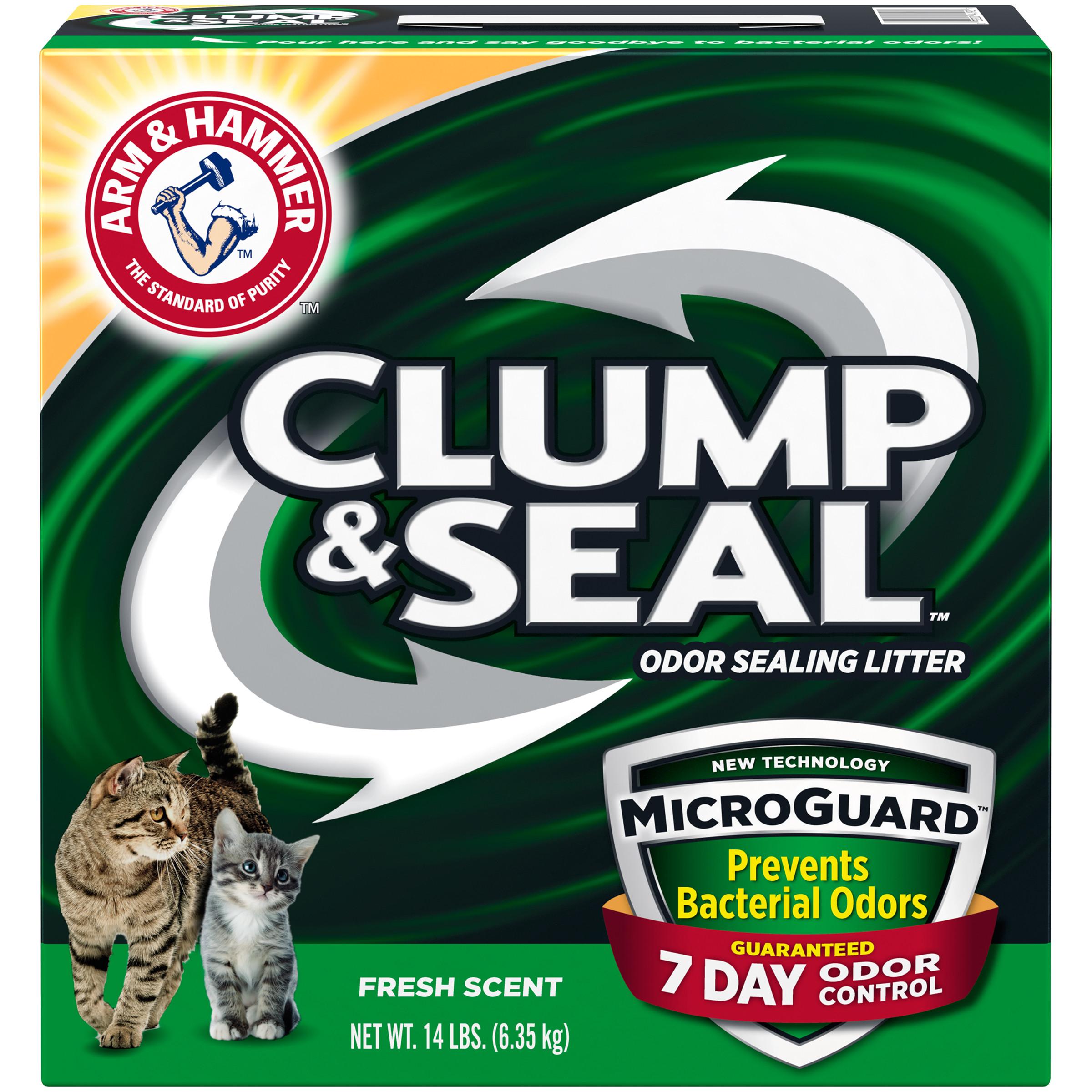 ARM & HAMMER Clump & Seal MicroGuard Litter, 14 lb