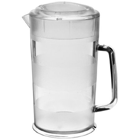 - Cambro PC64CW 64 oz Capacity, Camwear Clear Polycarbonate Covered Pitcher