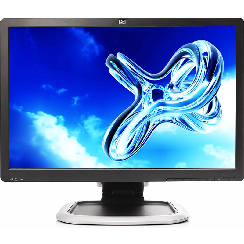 "Off Lease Refurbished HP L2245wg 1680 x 1050 Resolution 22"" WideScreen LCD Flat Panel Computer Monitor Display"