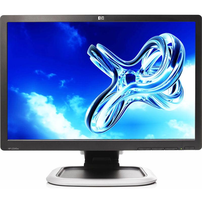 "Refurbished HP L2245wg 1680 x 1050 Resolution 22"" WideScreen LCD Flat Panel Computer Monitor Display"