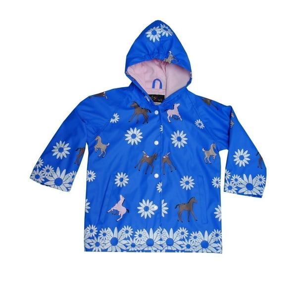 Foxfire - Blue Pony Boys Rain Coat 8 - Walmart.com - Walmart.com