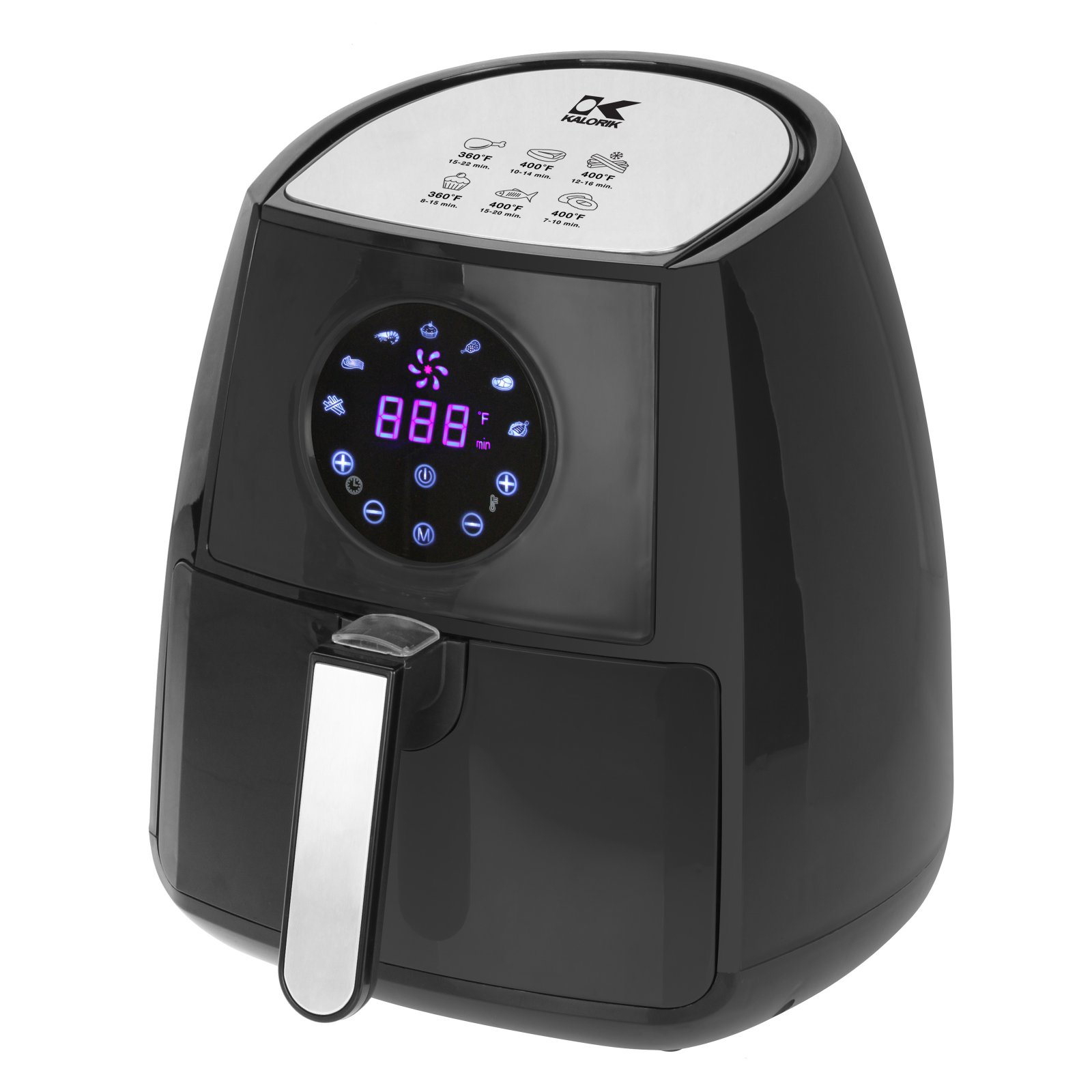 Kalorik Digital Airfryer with Dual Layer Rack