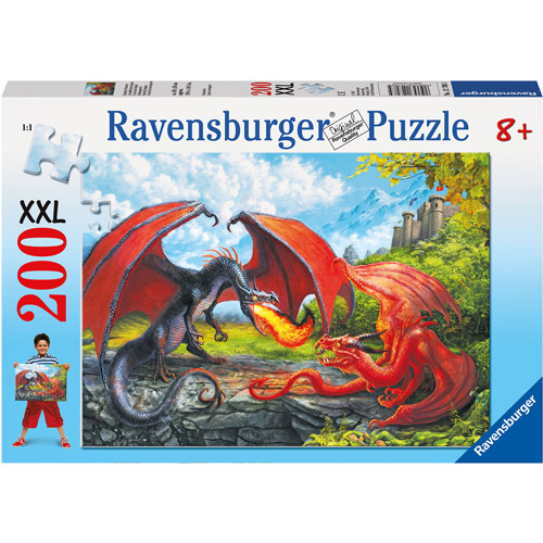 Ravensburger Dueling Dragons Puzzle, 200 Pieces