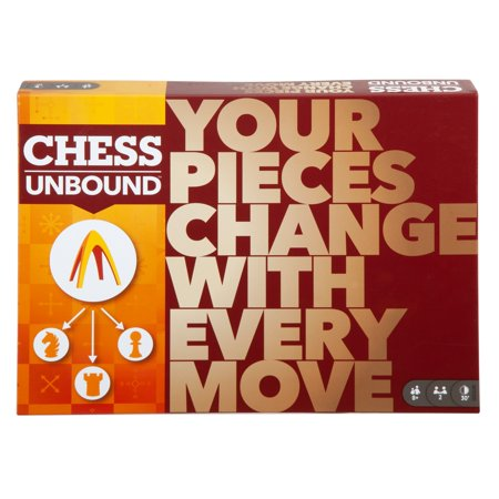 Chess Unbound Strategy Game for 2 Players Ages 8Y+