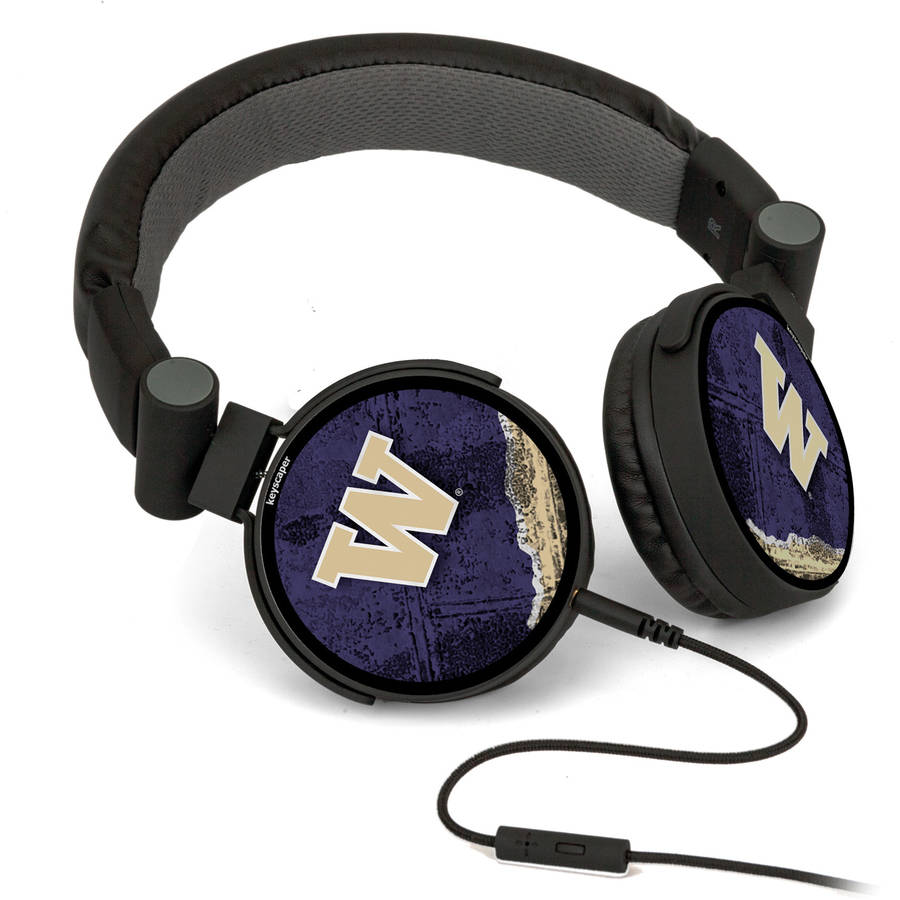 Washington Huskies DJ-Style Headphones