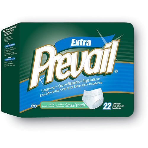 Prevail Protective Adult Underwear, Small/Youth, 88 ct