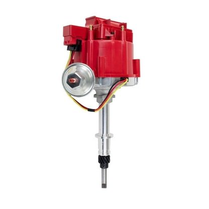 - A-Team Performance New Chevy Late Inline SIX 6 Cylinder HEI Distributor 230 250 292 Red 65K Coil