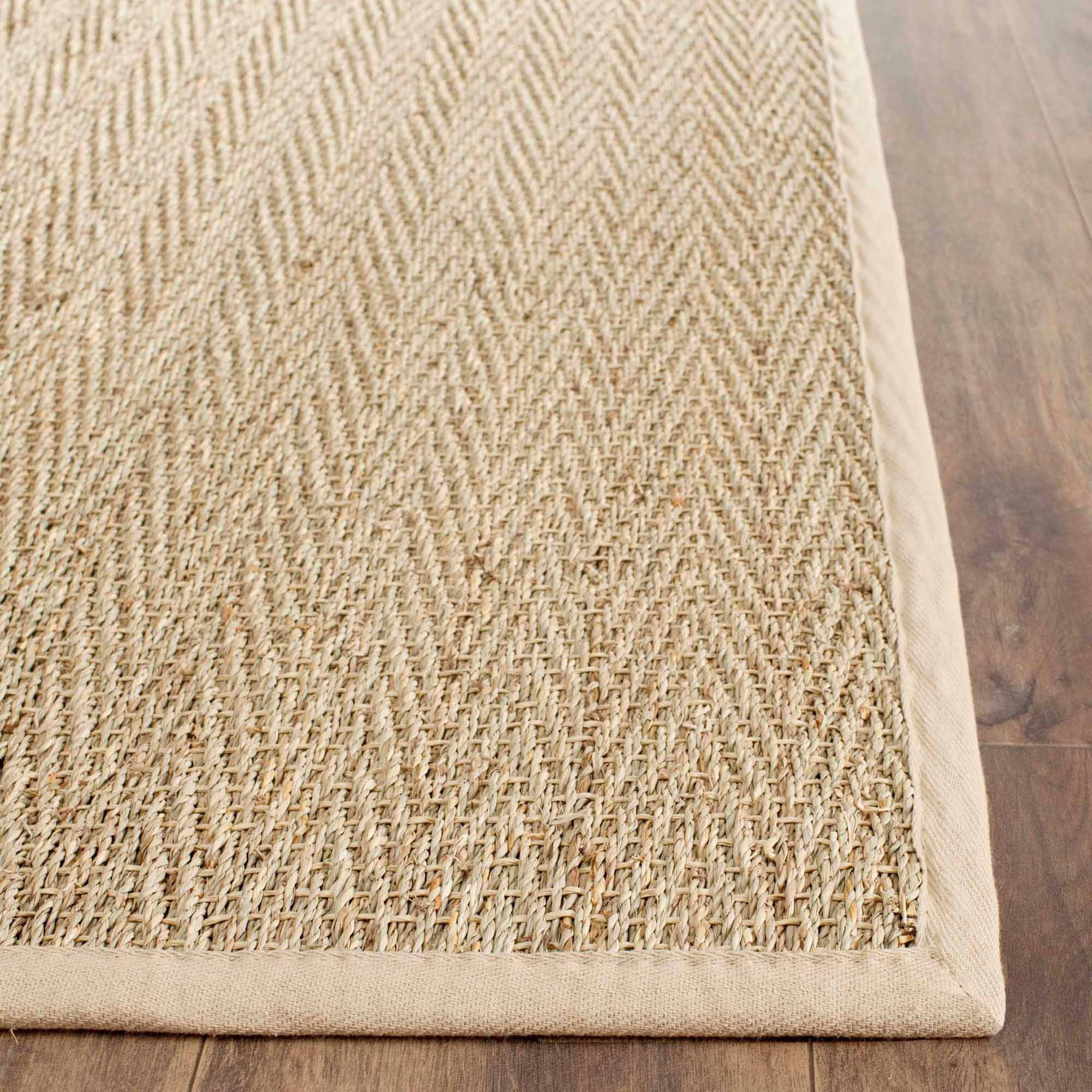 Safavieh Herringbone Seagrass Area Rug, Natural/Beige