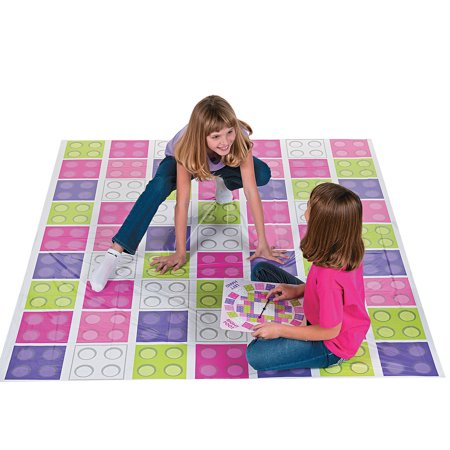 Fun Express - Girl Color Brick Party Bend Game for Birthday - Toys - Games - Indoor & Mini Game Sets - Birthday - 2