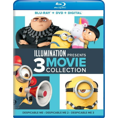 Illumination Presents 3 Movie Collection (Blu-ray + Digital Copy)](Halloween 3 Movie Cast)