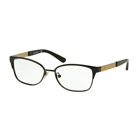 Tory Burch Eyeglasses Ty 1046 3100 Black Gold 50Mm