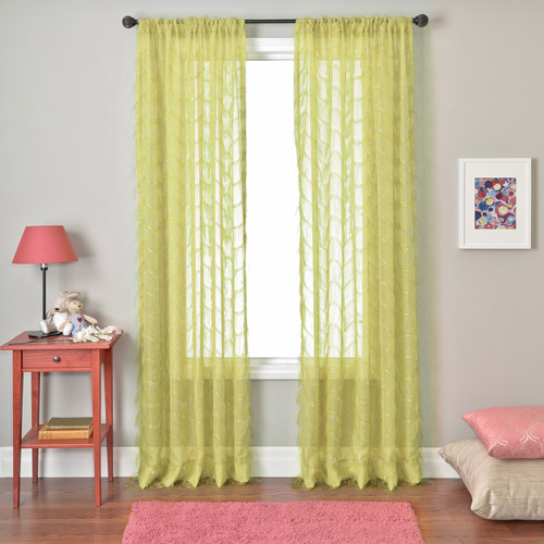 Colchester Ave Tango Rod Pocket Girls Bedroom Curtain Panel