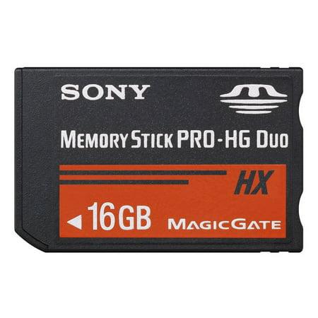 16GB Sony Memory Stick PRO-HG Duo HX High-Speed Memory Card for (Sony Memory Stick Pro Hg Duo Hx)