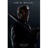 Terminator Genisys Movie Mini poster 11inx17in