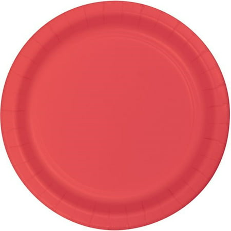 Touch of Color Lunch Plate, 7