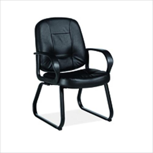 Global Arno Guest  Chair in Mock Leather Office Chair