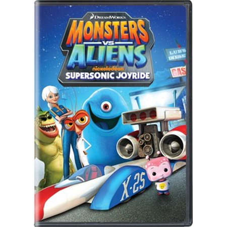Monsters vs. Aliens: Supersonic Joyride (DVD) (Monsters Vs Aliens Night Of The Living Dog)