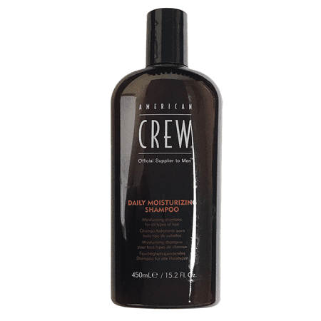 American Crew Daily Moisturizing Shampoo 15.2 Oz, For All Hair Types